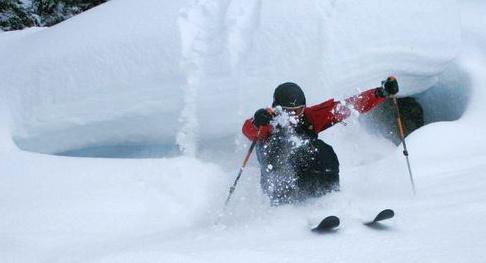På jobb i skisporet